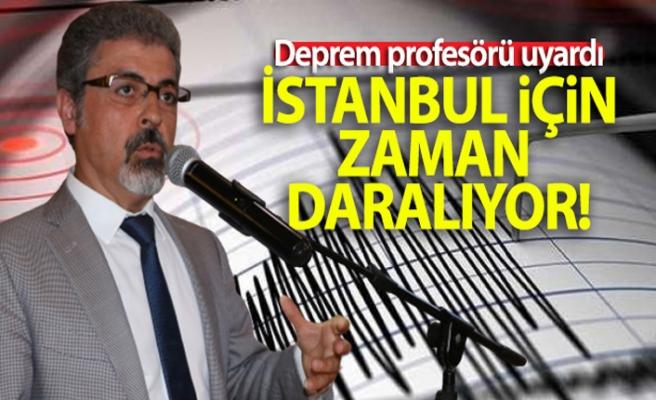 """Deprem profesörü uyardı: """"İstanbul için zaman daralıyor"""""""