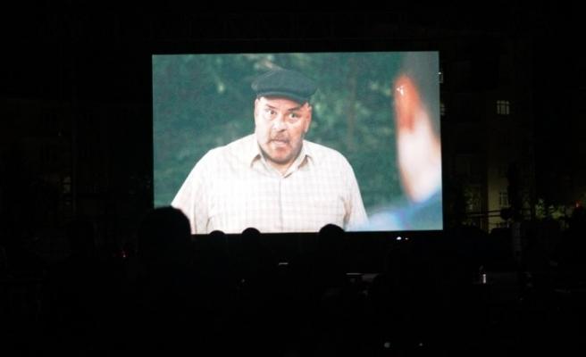 Elazığ'da açık hava sineması etkinliği