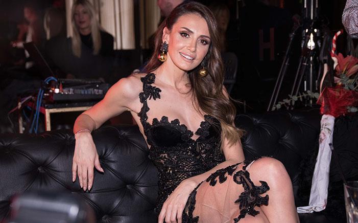 emina jahovic siyah elbise
