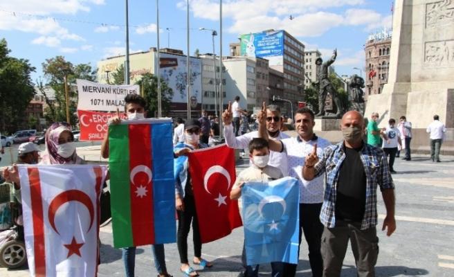 Ergenekon Ocakları'ndan Diyarbakır annelerine destek