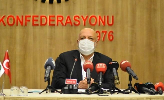 """HAK-İŞ Genel Başkanı Arslan: """"Biz kanun zoruyla hiçbir işçinin başka bir sendikaya geçmesini kabul edemeyiz"""""""