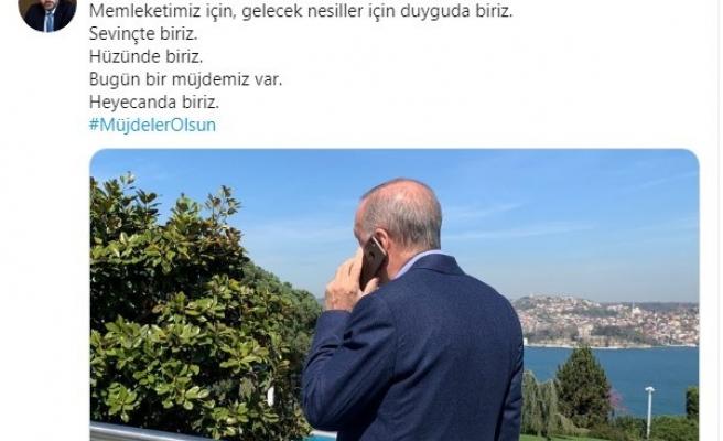 """İletişim Başkanı Fahrettin Altun: """"Bugün bir müjdemiz var. Heyecanda biriz"""""""