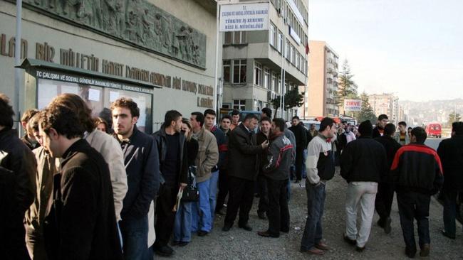 İşsizlik oranı mayısta yüzde 12,9'a çıktı