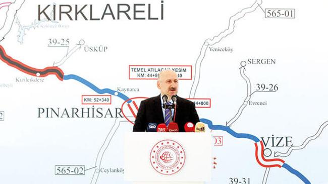 İstanbul-Edirne arası 1 saat 20 dakikaya iniyor