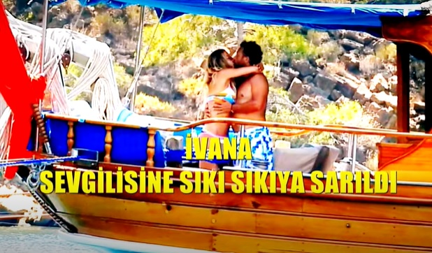 ivana sert bodrum öpücük yeni sevgili