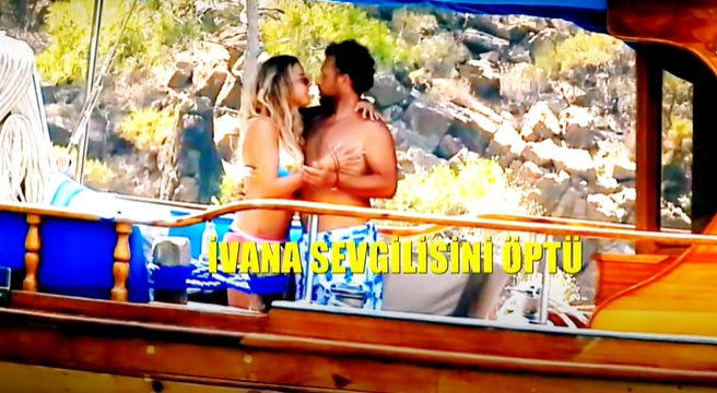 ivana sert bodrum tekne aşk