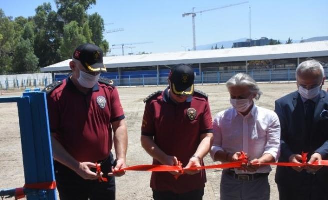İzmir Atlı Polis Eğitim Merkezinin yeni yerleşkesi açıldı