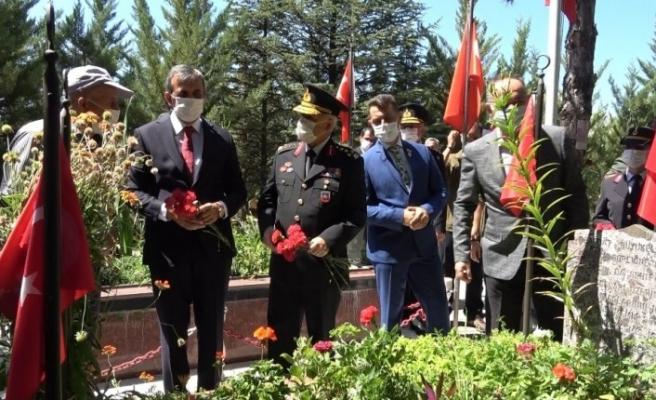 Jandarma Genel Komutanı Orgeneral Çetin, Kırıkkale Şehitliği'ni ziyaret etti
