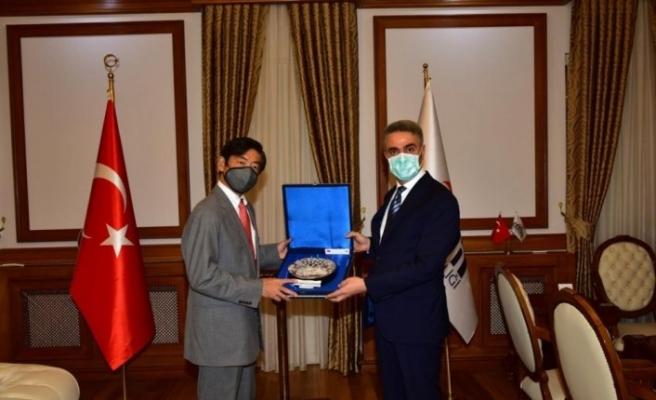 Japonya Büyükelçisi Miyajima'dan işbirliği mesajı
