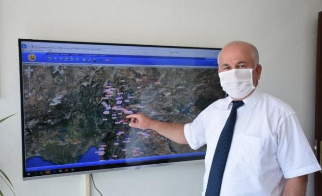Kahramanmaraş orman bölge sınırlarında 155 yangın çıktı