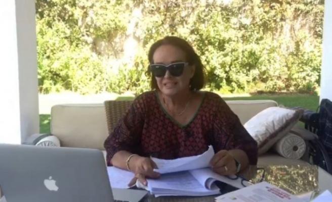 Müjde Ar, Bodrum'daki yüksek sese isyan etti