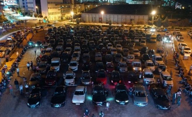 """Nevşehir'de """"Arabalı Konser"""" düzenlendi"""