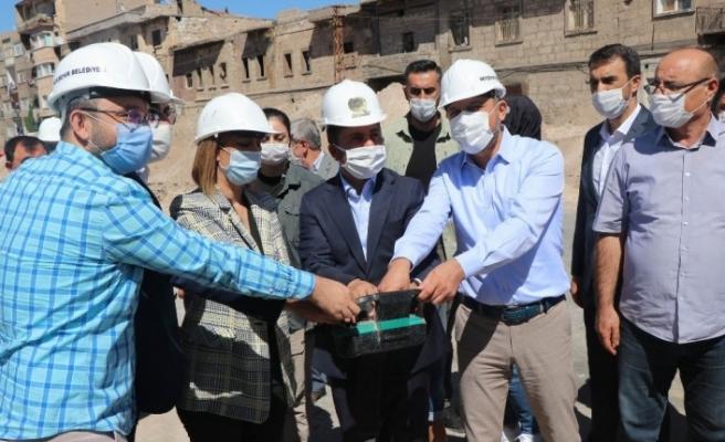 Nevşehir'de kentsel dönüşüm projesinin ilk temel atma töreni yapıldı