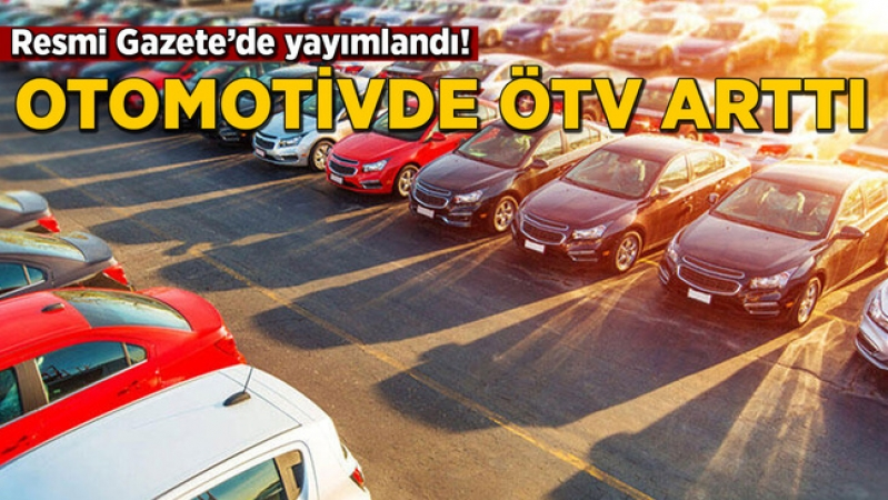 Otomobilde ÖTV indirimi beklerken zam geldi! Resmi Gazete'de yayımlandı