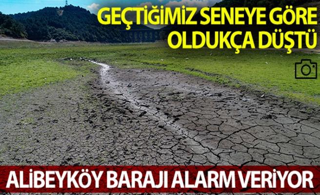 (Özel) Alibeyköy Barajı alarm veriyor