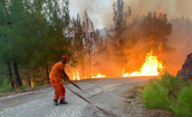 (Özel) Ormanın yangın savaşçıları 7/24 tetikte
