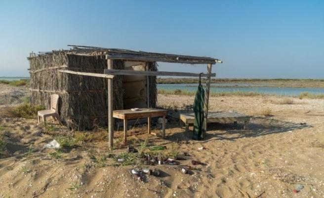 Silifke'deki Göksü Deltası insan kaynaklı kirliliğin hedefinde