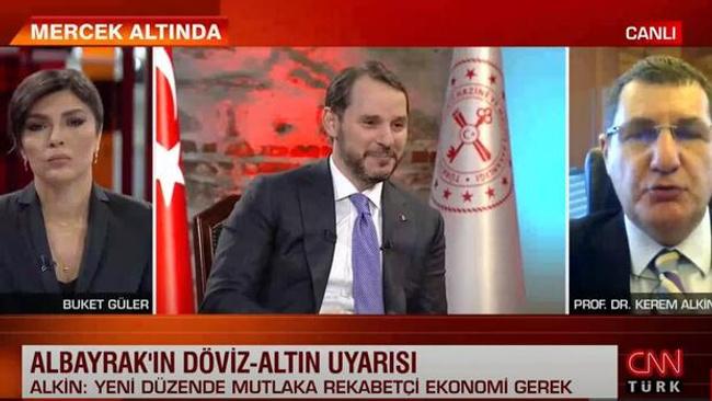Son dakika... Prof. Dr. Kerem Alkin CNN TÜRK'te açıkladı... Yeni düzende mutlaka rekabetçi ekonomi gerekli