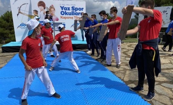 Sultangazi'de Yaz Spor Okulları sona erdi