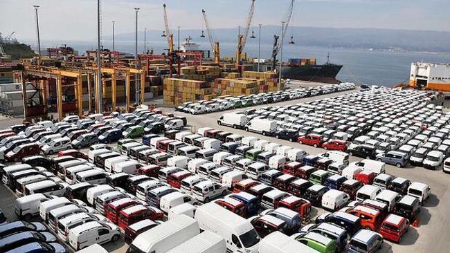 Türkiye'den 7 ayda 109 ülkeye 5,1 milyar dolarlık binek otomobil satışı