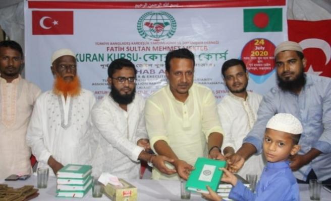 Türkiye'nin desteği ile Bangladeş'te 1 milyon öğrenciye Kur'an-ı Kerim dersi