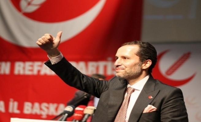 """Yeniden Refah Partisi Lideri Erbakan: """"Türkiye 150 milyar dolar kaynak üretebilir"""""""