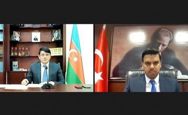 YTB Başkanı Eren, Azerbaycan Diaspora İş Üzre Devlet Komitesi Başkanı Muradov ile online toplantı gerçekleştirdi