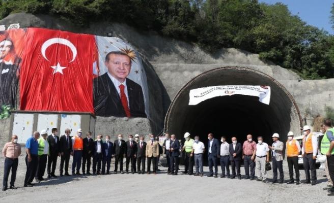 7 yıl önce temeli atılan tünelde ışık görüldü