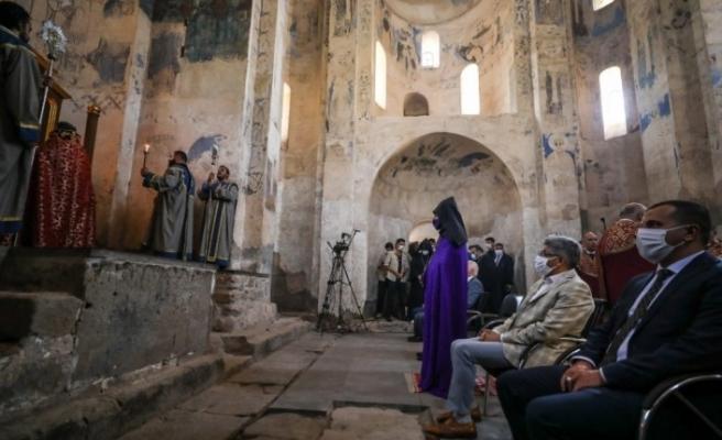 Akdamar Adası'ndaki 8'inci Ermeni ayini sona erdi