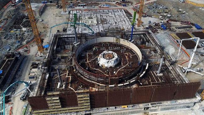 Akkuyu Nükleer Santrali'nde ikinci reaktör için çalışmalar bitti