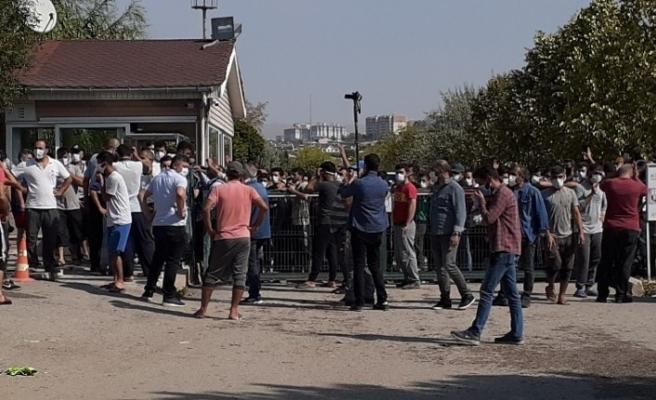 Ankara'da seyislerden eylem
