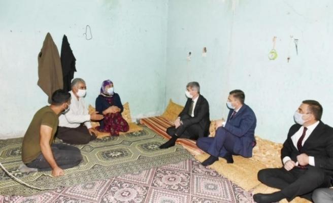 Bakan Yardımcısı İnce'den İpek Er'in ailesine ziyaret