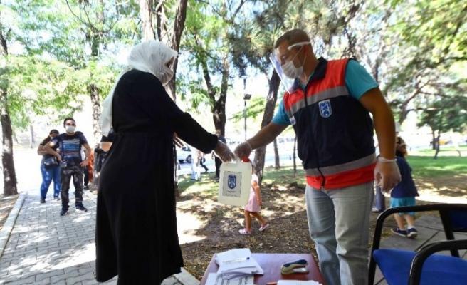 Başkent'te Büyükşehir Belediyesi korona virüs önlemlerini artırdı