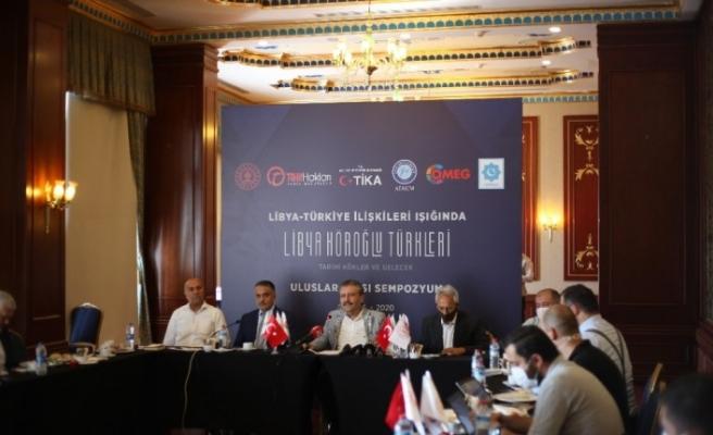 """Başkent'te """"Libya'daki Köroğlu Türkleri"""" sempozyumu"""