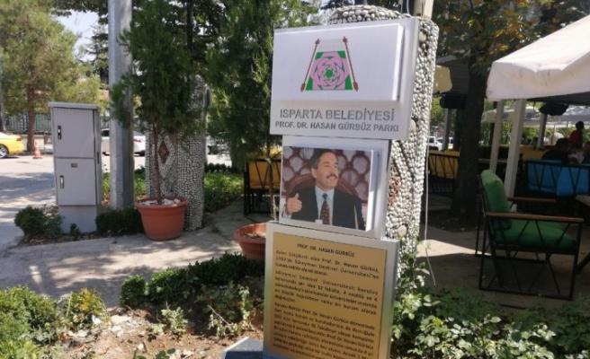 Belediye Başkanı Başdeğirmen'den merhum  Prof .Dr. Hasan Gürbüz'e vefa