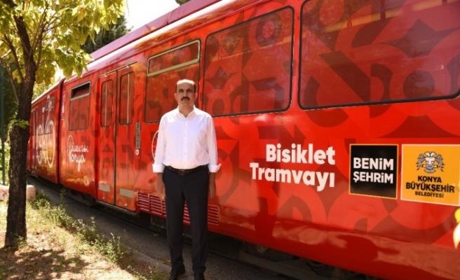 Bisiklet şehri Konya'dan Türkiye'de ilk