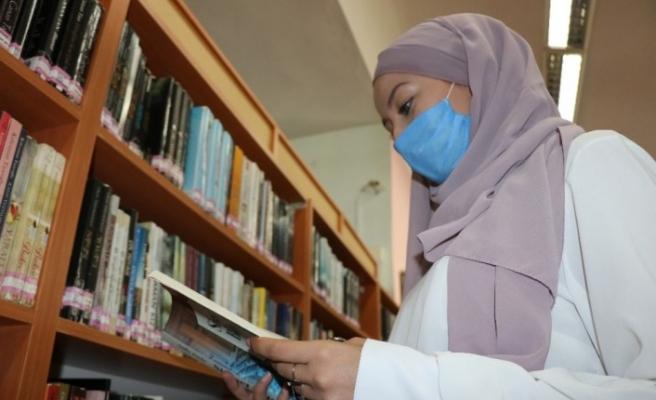 Bolu'da korona virüs salgını kütüphane kullanımını yüzde 50 düşürdü