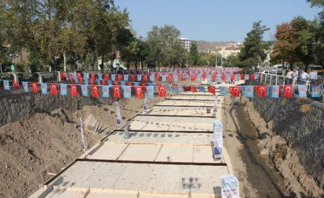 Çankırı'da 'Tatlıçay Projesi'nin temelleri atıldı