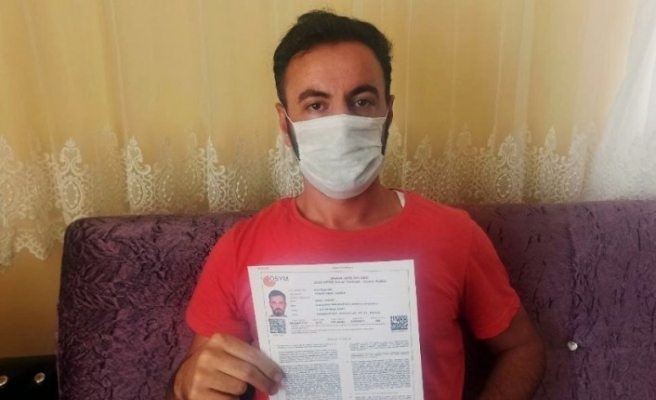 Covid-19 hastasının neden sınava ulaştırılmadığı araştırılacak