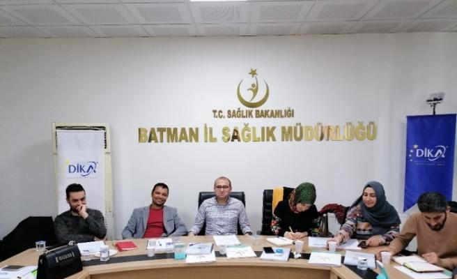 EMDR Eğitimi Projesi, Güneydoğu'da devam etti