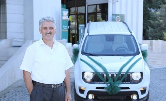 Eminevim'in Jeep ödülü sahibini buldu