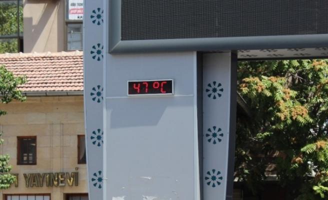 Eylül ayında termometreler 47 dereceyi gördü