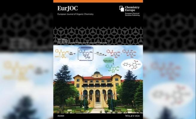Gazi Üniversitesi Avrupa'nın en iyi kimya dergisine kapak oldu