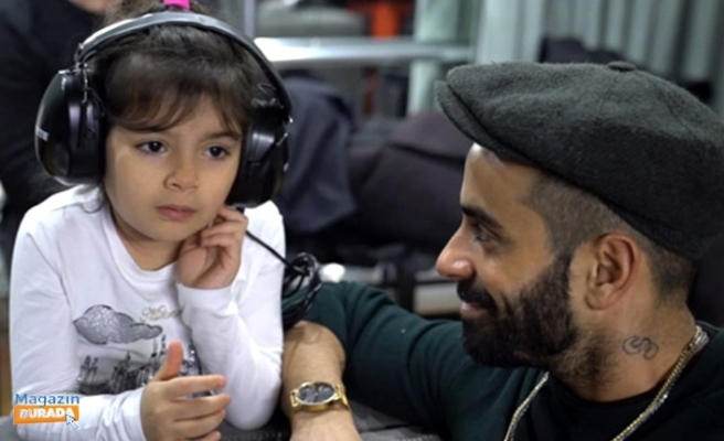 Gökhan Türkmen Kızı ile Düet Yaptı
