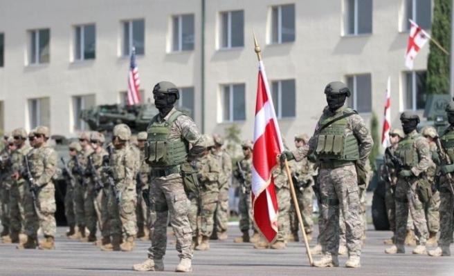 """Gürcistan'da """"Noble Partner 2020"""" askeri tatbikatı başladı"""