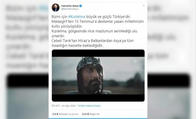 """İletişim Başkanlığından Malazgirt Zaferi'nin 949. yıl dönümüne özel """"Kızıl Elma"""" marşı"""