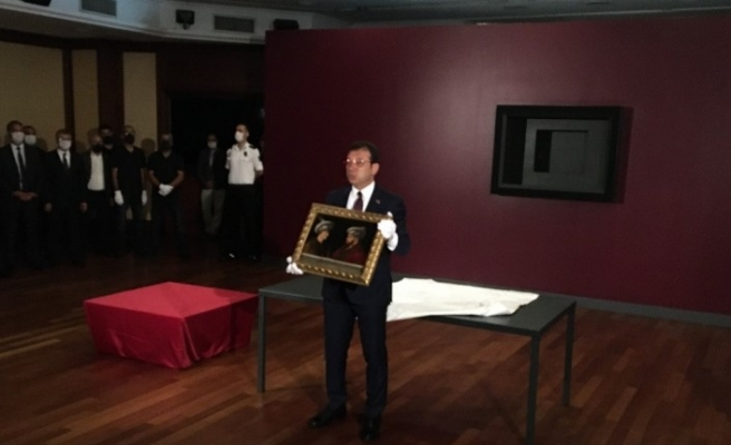 İstanbul halkı 6 Ekim'de Fatih Sultan Mehmet portresiyle buluşacak
