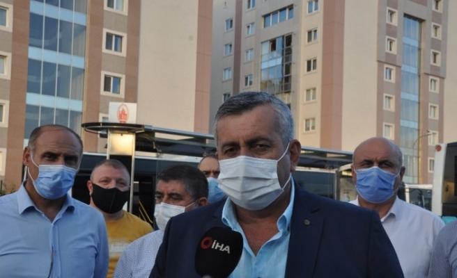 İstanbul Özel Halk Otobüsleri Odası Başkanı Ovacık:  Normal zamanda 2 buçuk milyon İstanbulluya hizmet ederken, Pandemi  nedeniyle günlük 900 bin kişi taşıyoruz