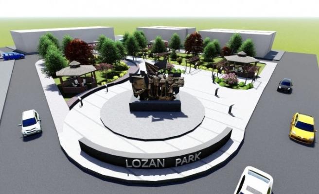 'Lozan Parkı' yenileniyor