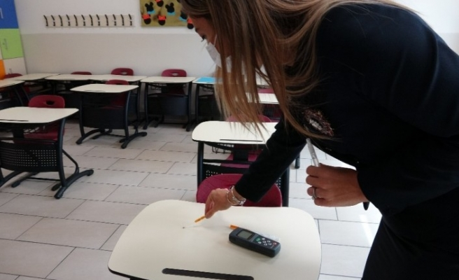 Okullarda virüslere karşı nano gümüş iyonlu kalkan